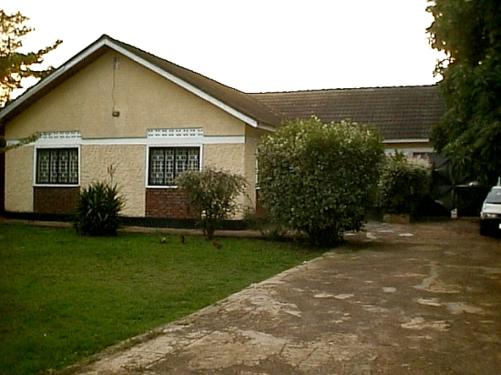 Esta fue mi primera casa en Uganda y en ella viví por dos años.