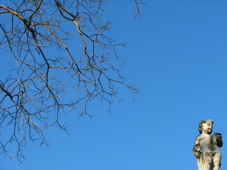 Sueños y arrepentimientos - Cielo desde la casa de Peggy Guggenheim en Venecia.