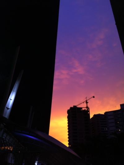 Vista desde el Milleniumm de Los Dos Caminos, Caracas
