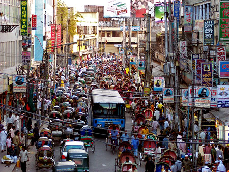 Avenida de Dhaka, Bangladesh