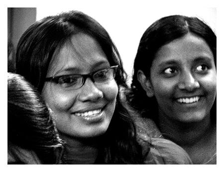 Smiles at Nari Jibon