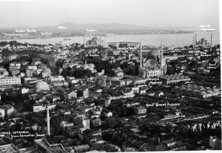 Vista de Estambul 1936