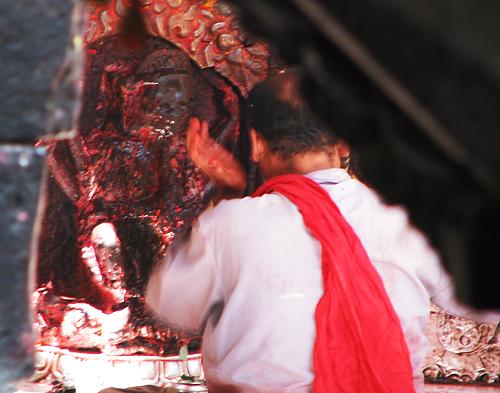 Santuario de Kali - la diosa desvestida