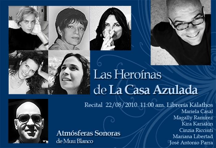 Las Heroínas de la Casa Azulada - Atmósferas Sonoras de Muu Blanco