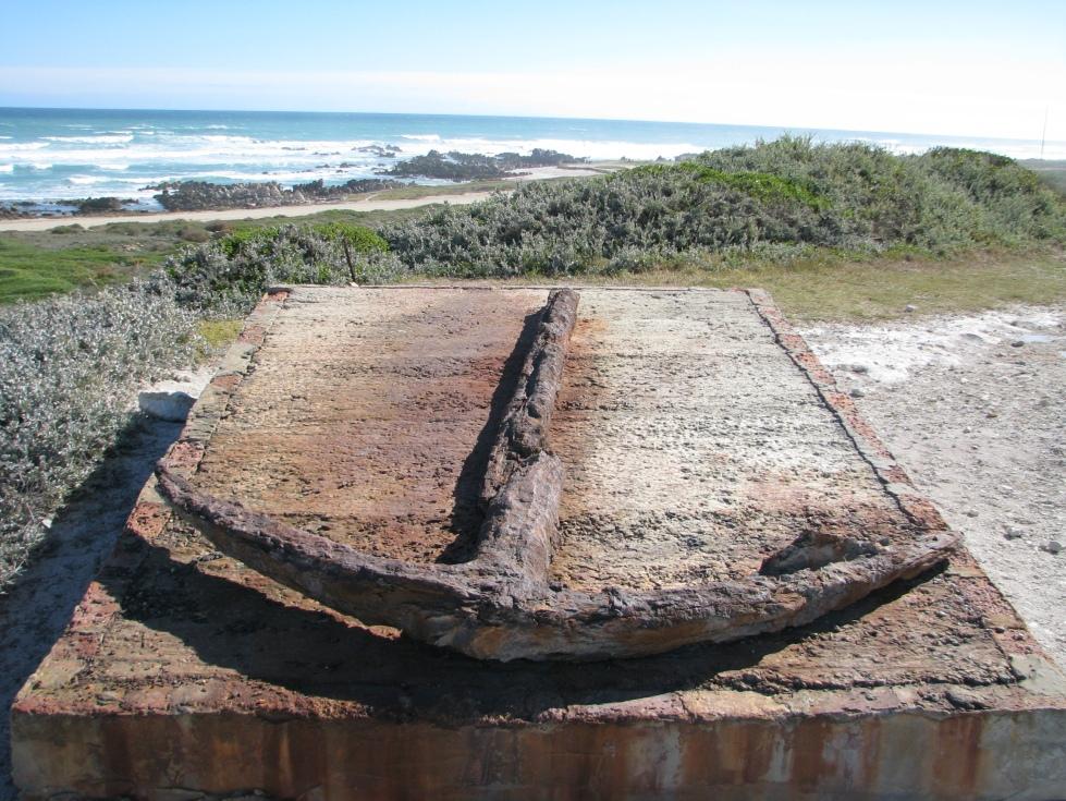 Ancla en Cape Agulhas