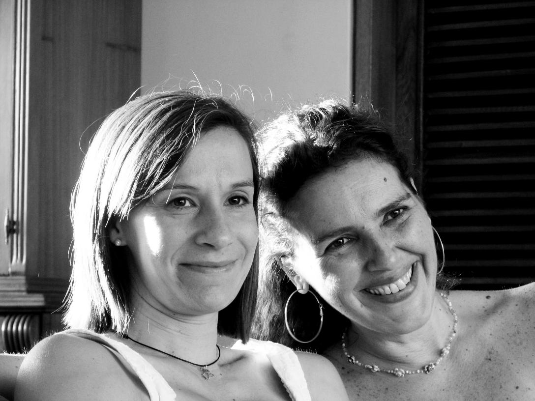 Keila Vall y CInzia Ricciuti, poetas
