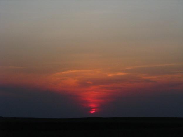 Atardecer desde las dunas - Apure 2010