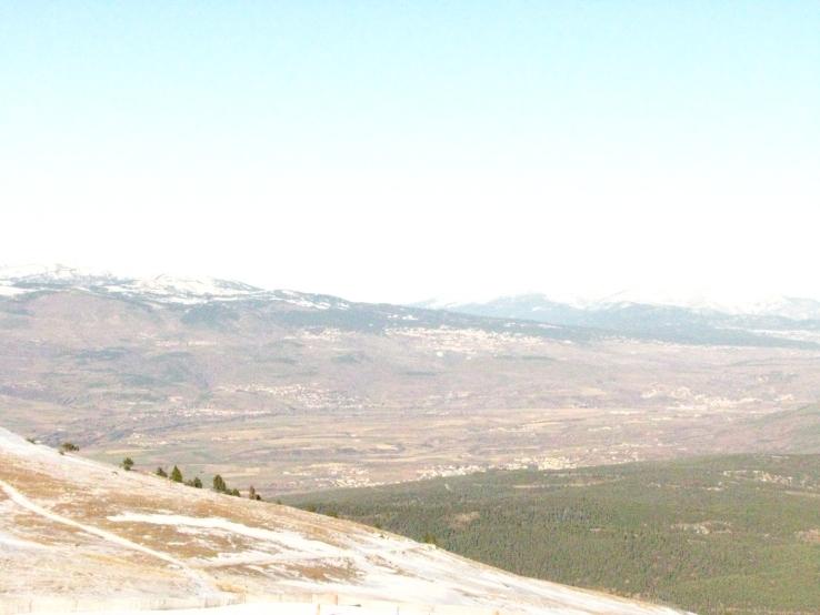 Vista en La Molina - España